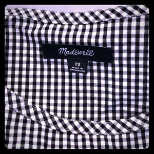 Madewell Gingham dress size XS